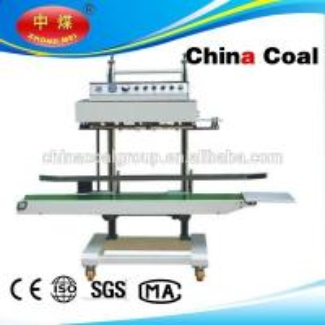 China factory price automatic plastic bag aluminum foil heat sealing machine wholesale