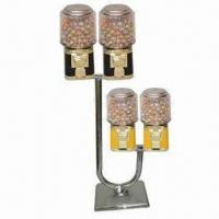 China J Vending Machine Stand with Chrome-plated Feature on sale