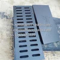 """China High performance light duty 19-11/16"""" L x 5-1/4"""" W x 3/4"""" H rectangular ductile iron channel drain grate wholesale"""