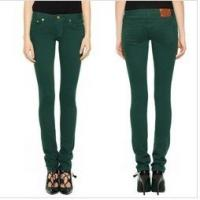 China 2013 super skinny jeans sexy girl jeans in dark green   wholesale