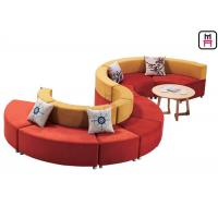 Buy cheap S Shaped  Custom Made Commercial Booth Seating  For Hotel And Conference Centers from wholesalers