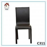 China high quality black leather dining room furniture C311 wholesale