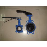 China Europe type Class125 / ANSI B16.2 / Class250 Handle / Gear Cast Iron Butterfly Valve wholesale