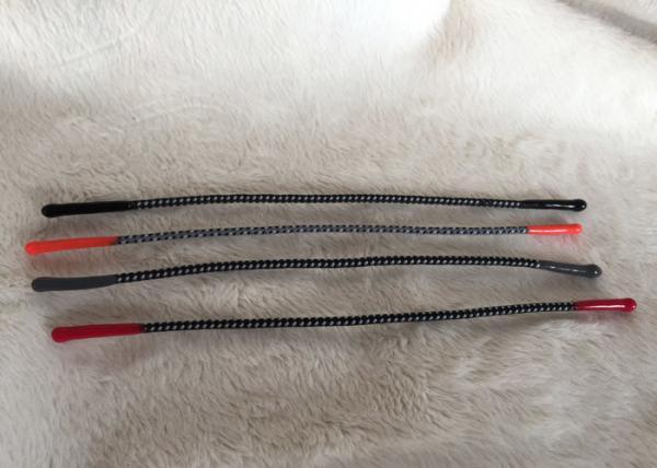 Quality Extremidades suaves de la conclusión del silicón del tirador de goma elástico reflexivo de la cremallera para la ropa for sale