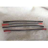 China Extremidades suaves de la conclusión del silicón del tirador de goma elástico reflexivo de la cremallera para la ropa wholesale