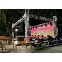 China Digital Control Stage Lighting Truss Accessories , 1 - 12m Span Aluminum Triangle Truss wholesale