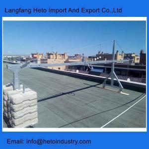Electric hoist motor temporary ZLP800 suspended platform for building maintenance