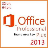 China Microsoft Office Product Key Codes, Office Professional Plus 2013 Brand New OEM Key wholesale