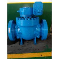 China Cast Flanged Top Entry Ball Valve with Gear Box Low Pressure wholesale