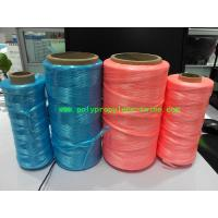 UV Treated High Tenacity Polypropylene Twine , Poly Baler Twine  Blue Red Color