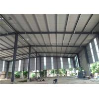 China Zinc Coloured Corrugated Sheets Roof Design Philippines Steel Structure Workshop wholesale