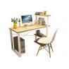 China Household Office Desktop Computer Desk Bookshelf  Table wholesale