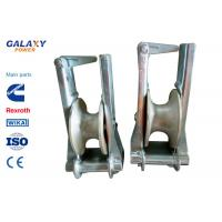 China Aluminum Powerline Tools And Equipment Crossarm Mounted Stringing Block wholesale