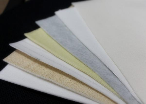 Quality Polyester Nomex P84 Needle Felt Filter Cloth / Bag flue gas filtration media for sale