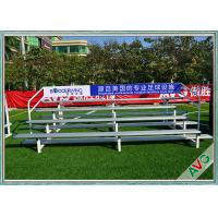 China UV Protection Retractable Plastic / Aluminum Bleacher Football Stadium Chairs wholesale