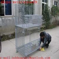 China European market storage  cage/pallet cage/security cage/metal bin/metal storage building/steel storage containers on sale