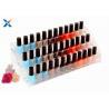 China Nail Polish Counter Acrylic Display Rack Showcase Multi Tiered Good Chemical Resisdence wholesale