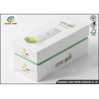 Art Paper Electronics Packaging Boxes Matt Lamination Printing Handling Fade for sale