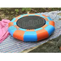 China EN14960 Inflatable Water Parks , Giant Inflatable Trampoline Games 5m diameter on sale