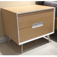 China Metal supporting leg storage cabinet, wood structure wtih 2 drawers wholesale