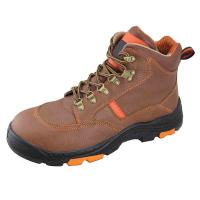 China Genuine leather Industrial safety shoes on sale