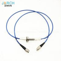 China 2000RPM Fiber Optic Rotary Joint  with electronic slip ring FC Connector on sale