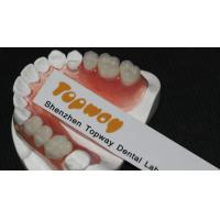 Buy cheap Strong And Durable Valplast Flexible Dentures / Dental Partials Denture For Loss Teeth Replacement Non Invasive from wholesalers