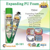 China Expanding Polyurethane Fireproof Spray Foam Insulation For Construction on sale