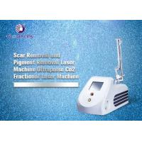 China RF Tube CO2 Fractional Laser Machine For Wrinkle Removal And Skin Tightening on sale