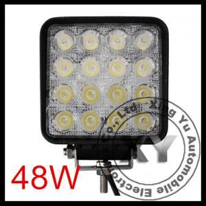 China 48W LED Work Light 12V 24V IP67 Flood Or Spot beam For 4WD 4x4 Off road Light TRUCK BOAT on sale
