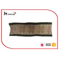 China Ladies Knitted Snood Scarf Berber Fleece Lining Washable One Size wholesale