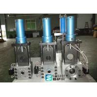 China Single Plate Hydraulic Screen Changer Extruder Electronic Control Scale System wholesale