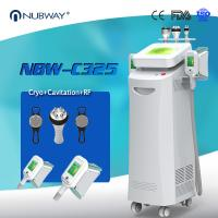 China CE ISO FDA approved Hot Sale 5 handles Cryolipolysis Slimming With Cavitation and RF for body slimming weight loss wholesale