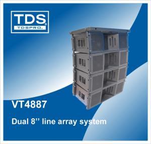China Line Array Speaker/ System, Line Array Audio, Line Array Driver, Line Array Loudspeaker, Line Array DJ Speaker VT4887 wholesale
