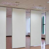 China Mobile Wood Folding Sliding Modular Operable Soundproof Movable Partition Walls wholesale