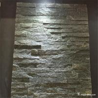 China Natural Stone Black Quartzite Ledgestone Mini Panel With Contemporary Looking wholesale