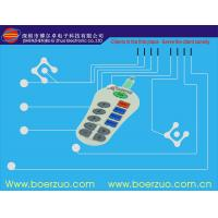 China Flexible PCBA Waterproof Membrane Switch With Transparent Window on sale