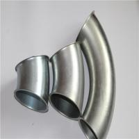China Zinc Plated Stainless Steel 45 Degree Elbow , SS Pipe Fittings Smooth Surface wholesale