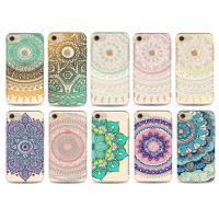 China Flower Decorated Uv Printing Design Custom Made Phone Cases Tpu For iPhone wholesale