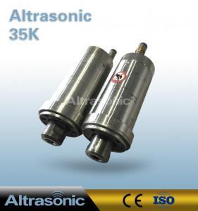 China 35 KHz Replacement Herrmann Ultrasonic Converter For Ultrasonic Spot Welding on sale