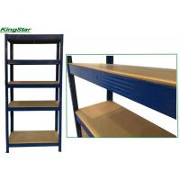 Buy cheap 5 LAYERS STRENGTHEN BEAM AND SAFE EDGE POST BOLTLESS STORAGE SHELVING from wholesalers