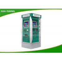 China Bus Station Cash Acceptor Payment Ticket Vending Machine With Touch Screen wholesale