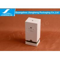 China Lid And Based Cardboard Packing Boxes Essential Oil White Storage Box SGS wholesale