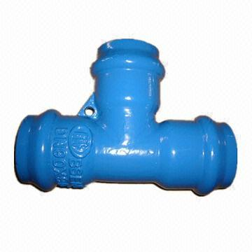 Quality DN50 to 500 PVC Tee for sale