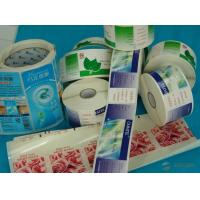 China OEM Printing Factory Custom Printing Paper Card Roll Sticker Mass Production Label CMYK Colors Printed wholesale