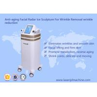 China Anti Aging RF Beauty Equipment Facial Radar Ice Sculpture For Wrinkle Removal wholesale