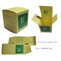 Buy cheap Colorful 2-side Printing Paper Cosmetic Packing Box from wholesalers