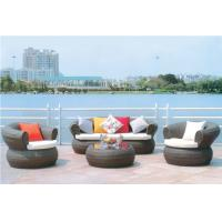 China YLX-RN-034 Coffee PE Rattan Single and Three Seater with Table for Outdoor used wholesale