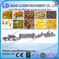 China core filled snack processing line production line production machines wholesale