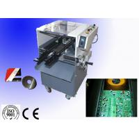 China Taiwan Brand Guide Rail Automatic PCB Lead Cutter With Single Sided Layers wholesale